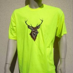 Tee-shirt fluo jaune