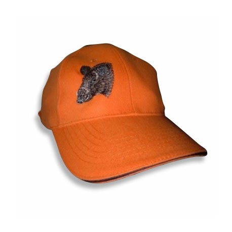 Casquette coton orange