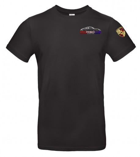 T-shirt col rond PEA Homme - Noir