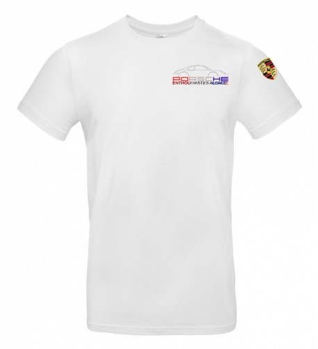 T-shirt col rond PEA Homme - Blanc