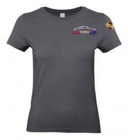 T-shirt col rond PEA Femme - Gris