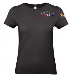 T-shirt col rond PEA Femme - Noir