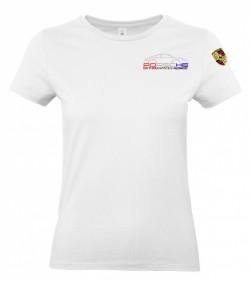 T-shirt col rond PEA Femme - Blanc