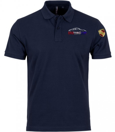 Polo Manches Courtes PEA Homme - Navy