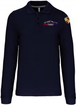 Polo Manches Longues PEA Homme - Navy