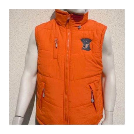 Bodywarmer orange -